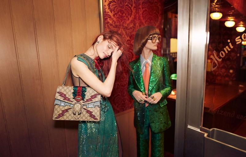 Campagne Gucci - Printemps/été 2016 - Photo 7