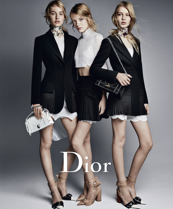 Campagne Dior - Printemps/été 2016 - Photo 1