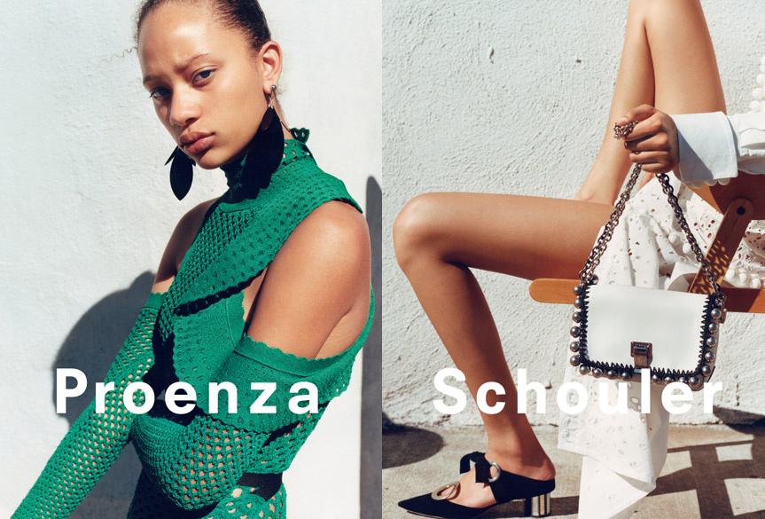 Campagne Proenza Schouler - Printemps/été 2016 - Photo 1