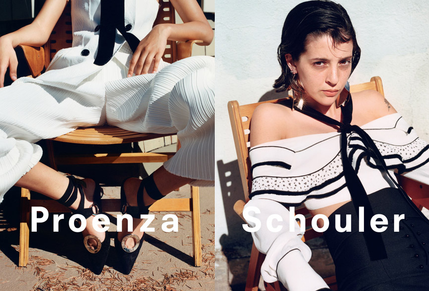 Campagne Proenza Schouler - Printemps/été 2016 - Photo 2