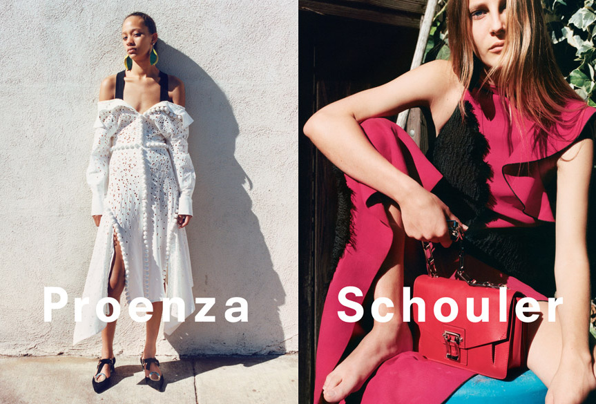 Campagne Proenza Schouler - Printemps/été 2016 - Photo 6