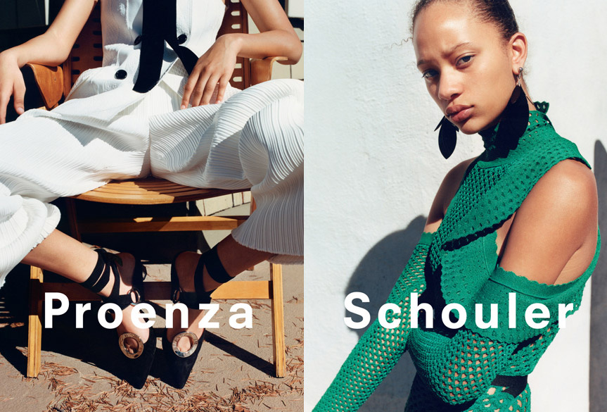 Campagne Proenza Schouler - Printemps/été 2016 - Photo 9