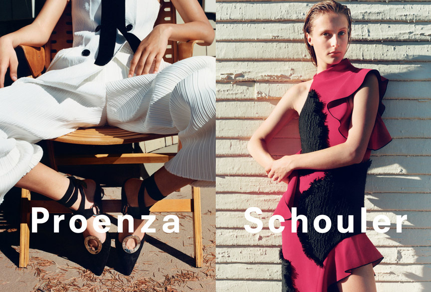Campagne Proenza Schouler - Printemps/été 2016 - Photo 10