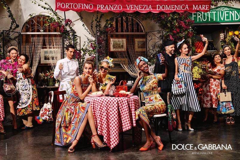 Campagne Dolce & Gabbana - Printemps/�t� 2016 - Photo 1