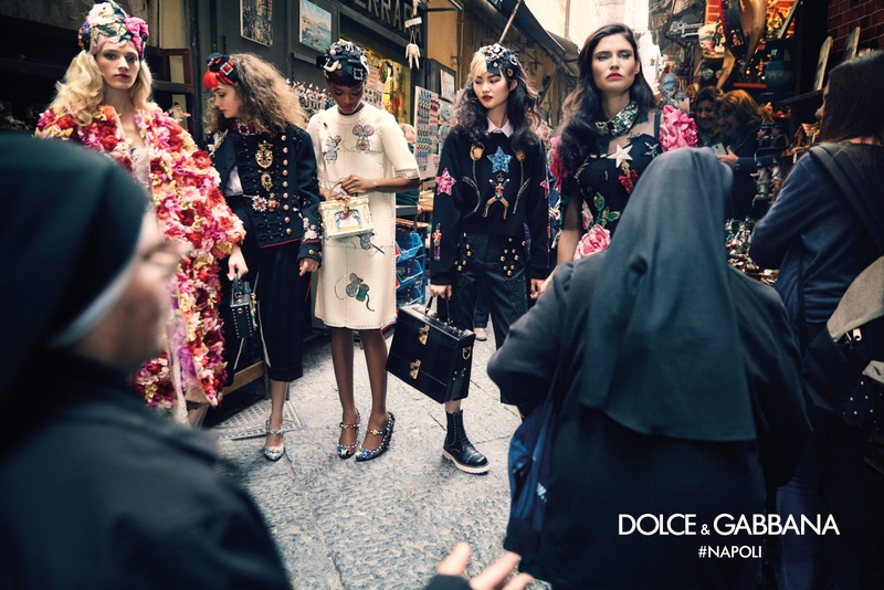 Campagne Dolce & Gabbana - Automne/hiver 2016-2017 - Photo 2