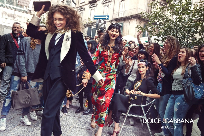 Campagne Dolce & Gabbana - Automne/hiver 2016-2017 - Photo 3