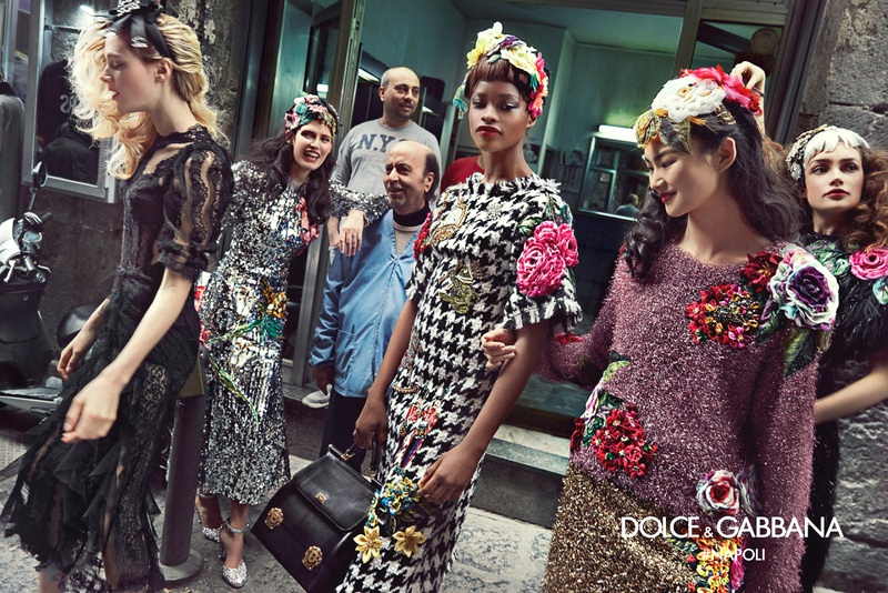 Campagne Dolce & Gabbana - Automne/hiver 2016-2017 - Photo 6