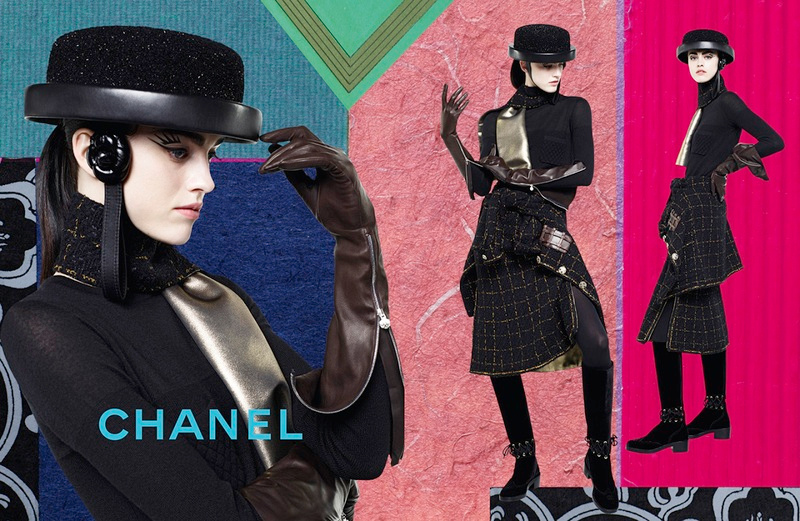Campagne Chanel - Automne/hiver 2016-2017 - Photo 1
