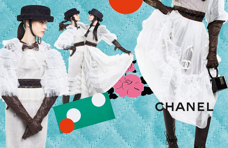 Campagne Chanel - Automne/hiver 2016-2017 - Photo 2
