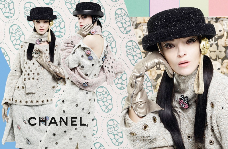 Campagne Chanel - Automne/hiver 2016-2017 - Photo 3