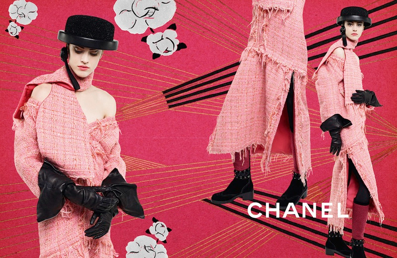 Campagne Chanel - Automne/hiver 2016-2017 - Photo 5