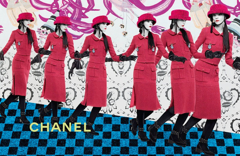 Campagne Chanel - Automne/hiver 2016-2017 - Photo 6