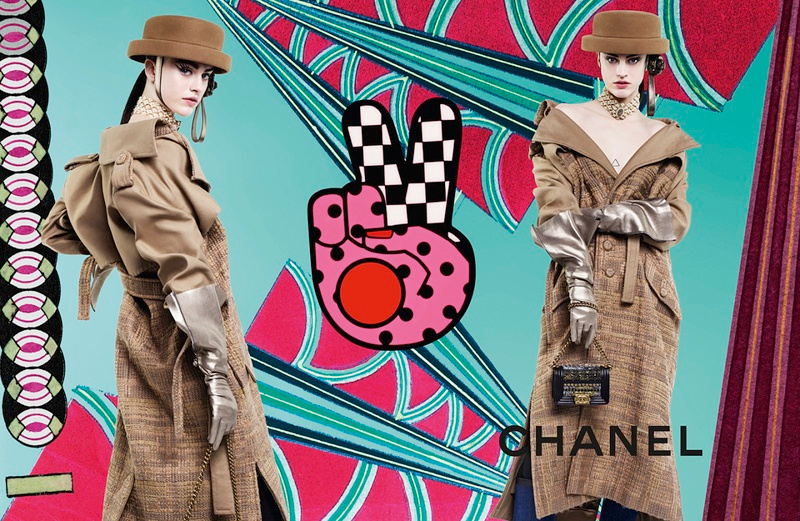 Campagne Chanel - Automne/hiver 2016-2017 - Photo 7