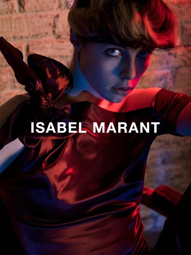 Campagne Isabel Marant - Automne/hiver 2016-2017 - Photo 2