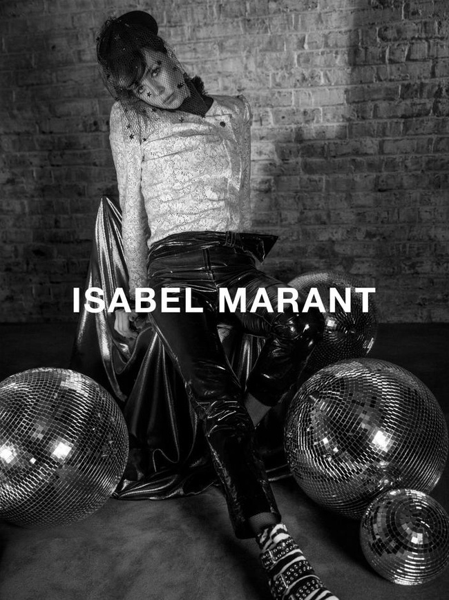 Campagne Isabel Marant - Automne/hiver 2016-2017 - Photo 3