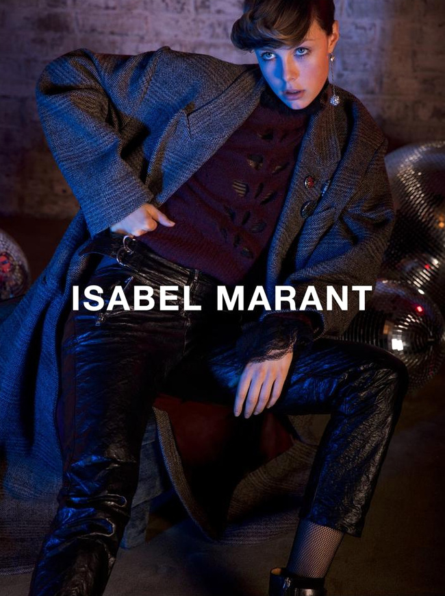 Campagne Isabel Marant - Automne/hiver 2016-2017 - Photo 4