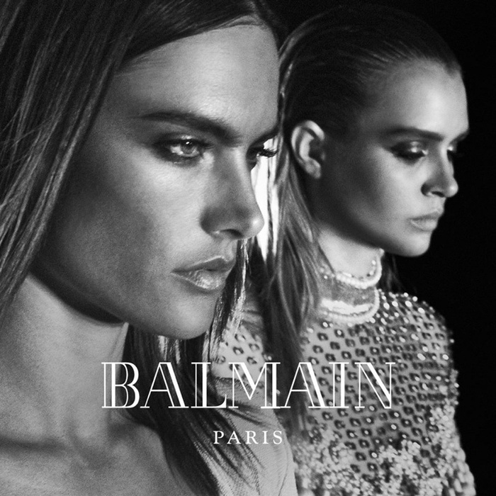 Campagne Balmain - Automne/hiver 2016-2017 - Photo 1