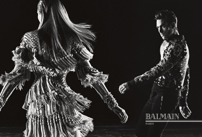 Campagne Balmain - Automne/hiver 2016-2017 - Photo 2