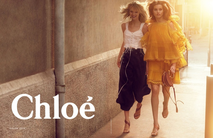 Campagne Chloé - Printemps/été 2017 - Photo 1