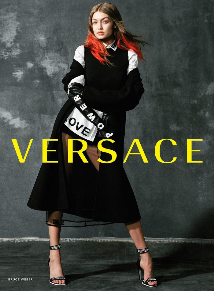 Campagne Versace - Automne/hiver 2017-2018 - Photo 3