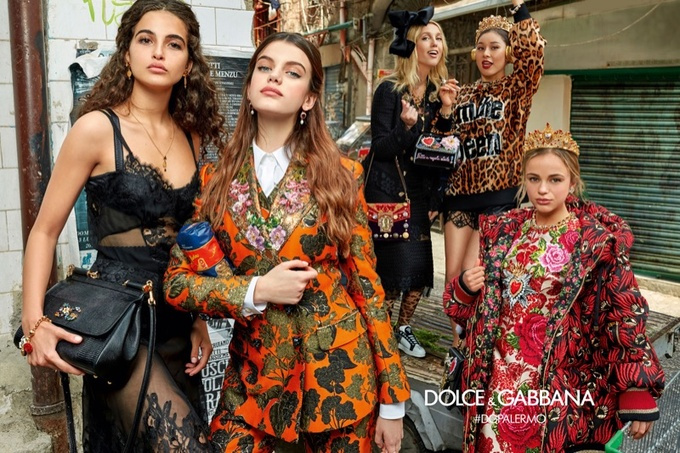 Campagne Dolce & Gabbana - Automne/hiver 2017-2018 - Photo 7