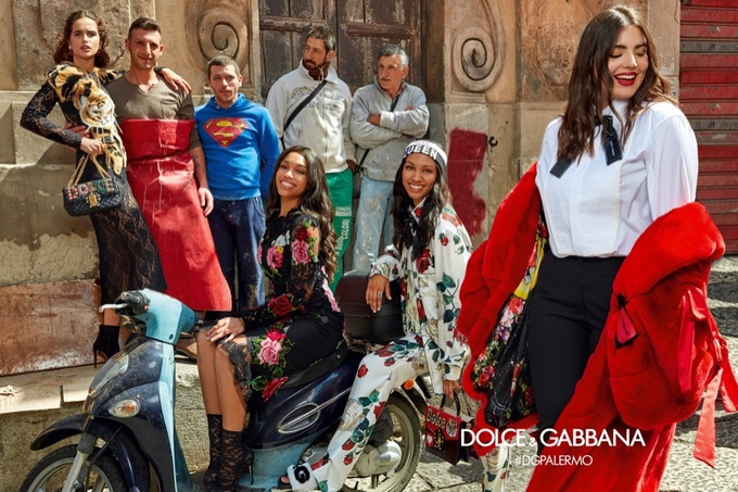 Campagne Dolce & Gabbana - Automne/hiver 2017-2018 - Photo 8