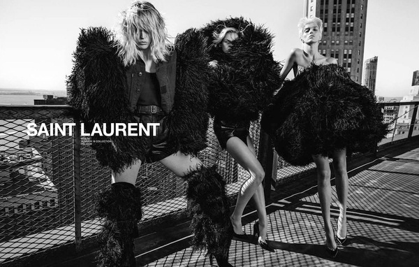 Campagne Saint Laurent - Printemps/été 2018 - Photo 4
