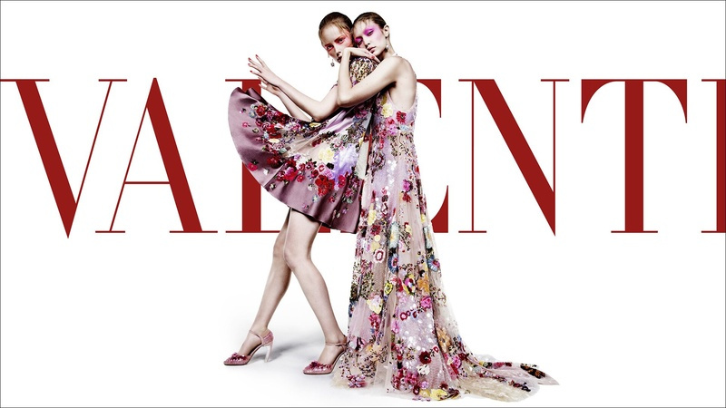 Campagne Valentino - Printemps/été 2018 - Photo 1