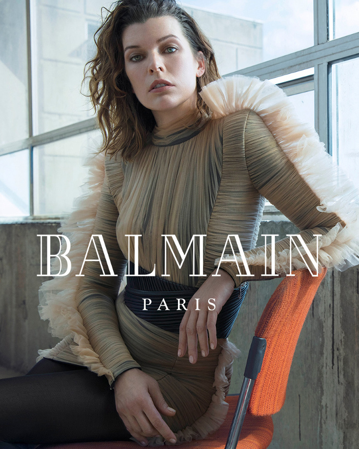 Campagne Balmain - Automne/hiver 2018-2019 - Photo 1