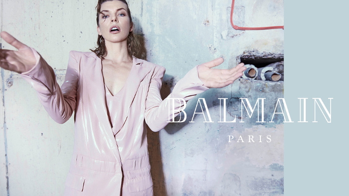 Campagne Balmain - Automne/hiver 2018-2019 - Photo 2