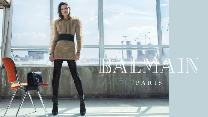 Campagne Balmain - Automne/hiver 2018-2019 - Photo 3