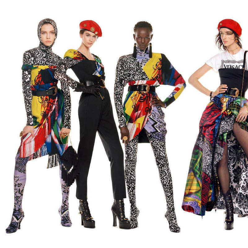 Campagne Versace - Automne/hiver 2018-2019 - Photo 1