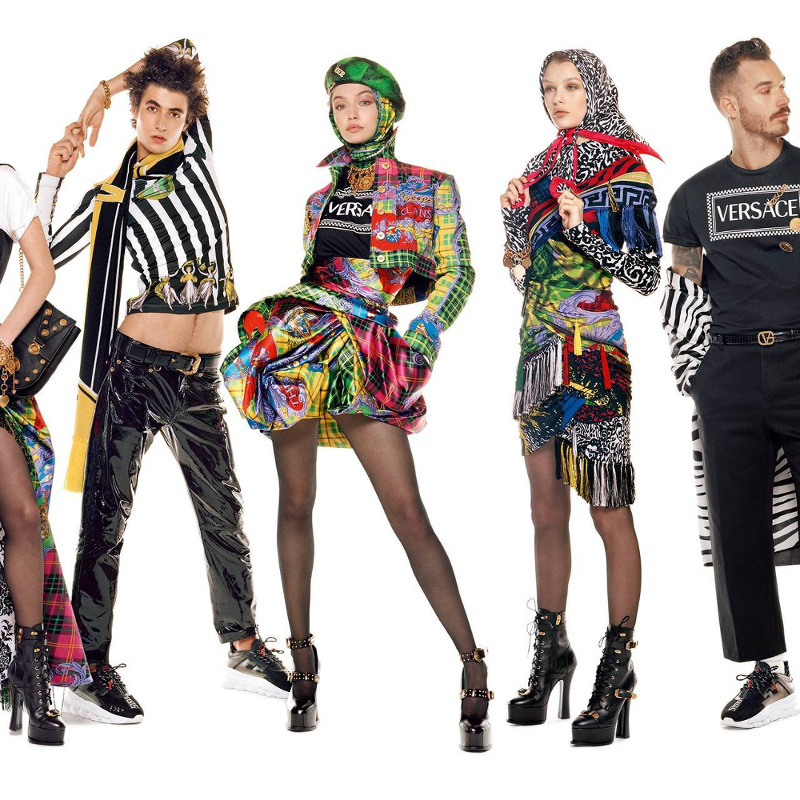 Campagne Versace - Automne/hiver 2018-2019 - Photo 2