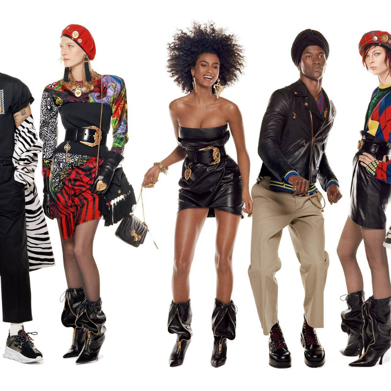 Campagne Versace - Automne/hiver 2018-2019 - Photo 3