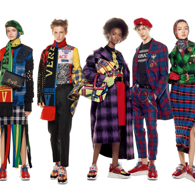 Campagne Versace - Automne/hiver 2018-2019 - Photo 5