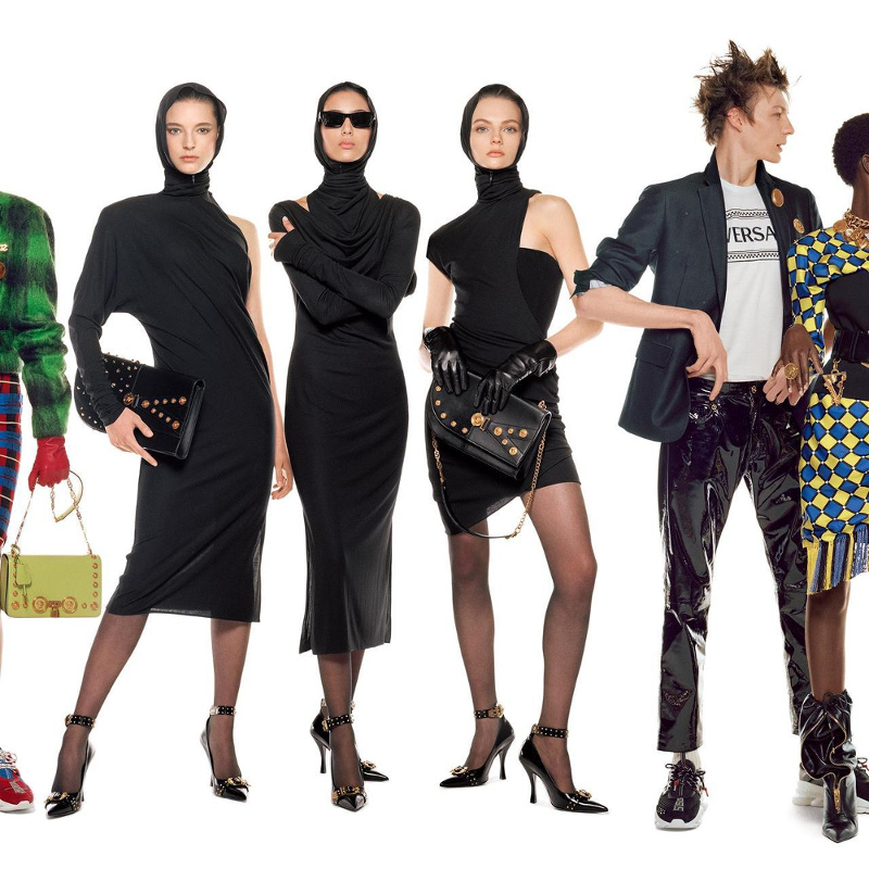 Campagne Versace - Automne/hiver 2018-2019 - Photo 6