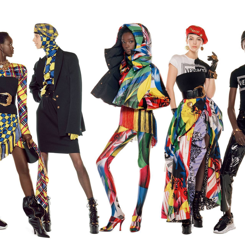 Campagne Versace - Automne/hiver 2018-2019 - Photo 7
