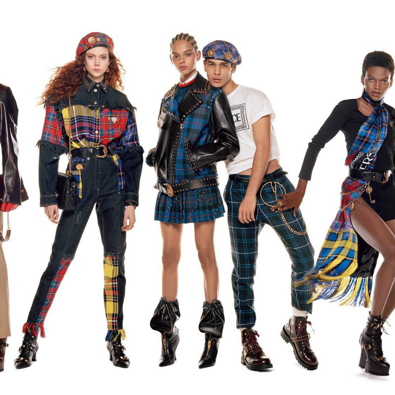 Campagne Versace - Automne/hiver 2018-2019 - Photo 11