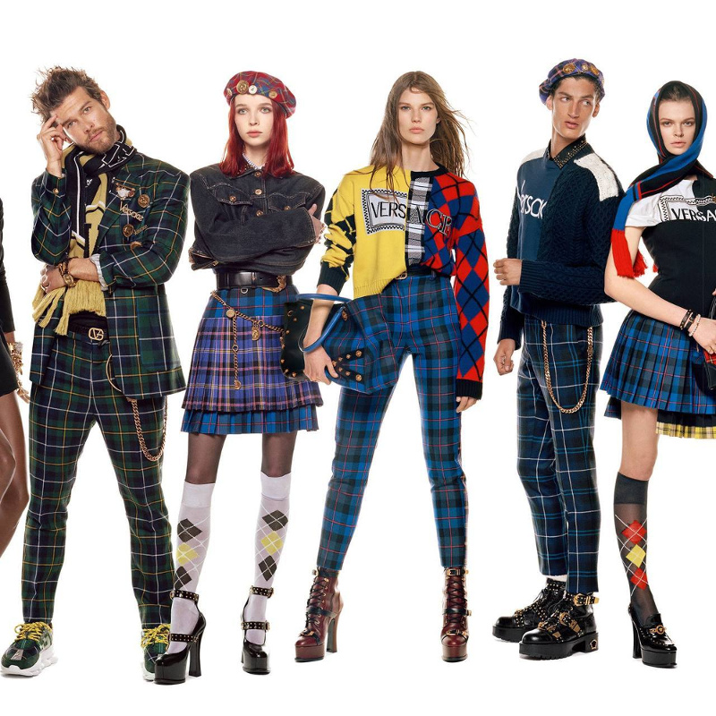 Campagne Versace - Automne/hiver 2018-2019 - Photo 12