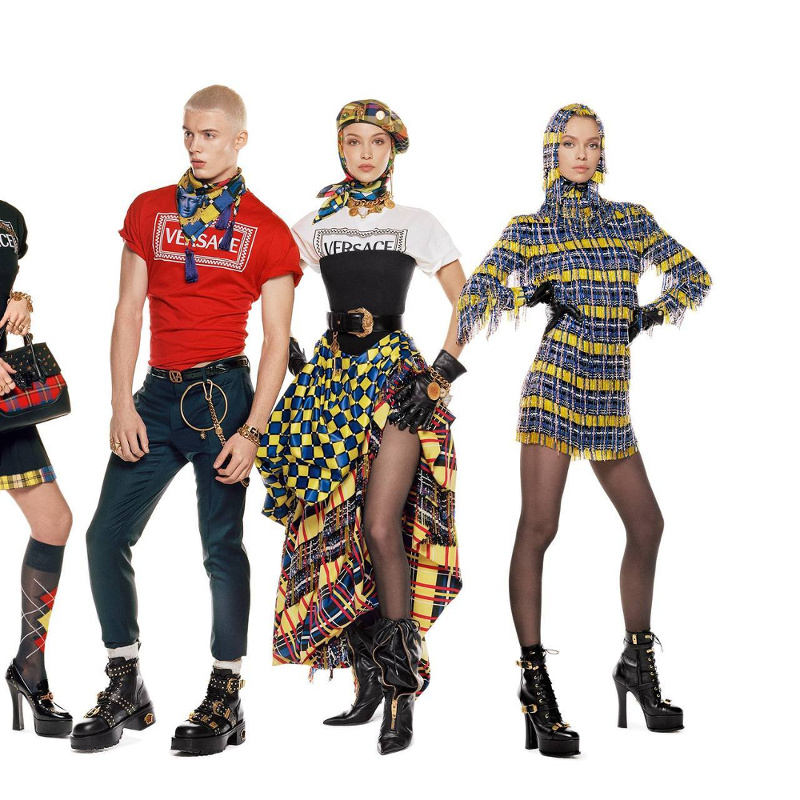 Campagne Versace - Automne/hiver 2018-2019 - Photo 13