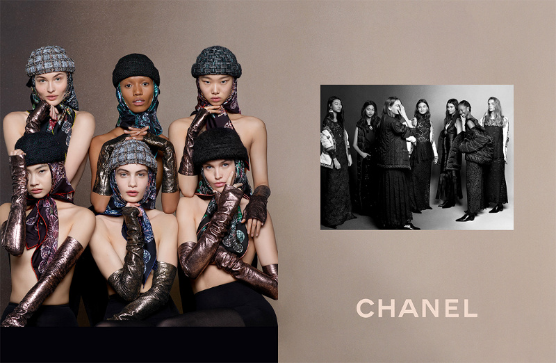 Campagne Chanel - Automne/hiver 2018-2019 - Photo 1