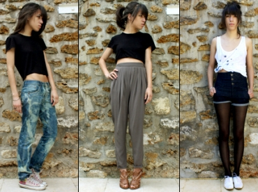 Le cropped tee-shirt