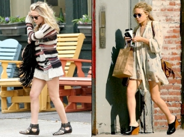 Mary-Kate Olsen : dress code de printemps