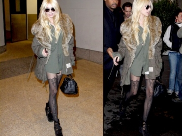 Taylor Momsen, too much ?