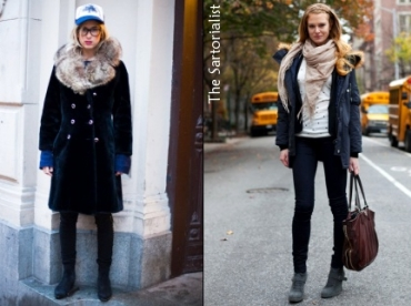 Looks d'hiver