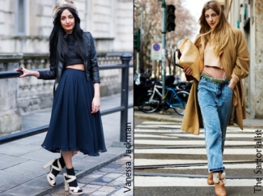 Top cropped : le dress code