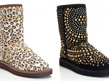 Les Uggs version Jimmy Choo
