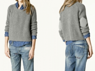 Pull cropped Zara