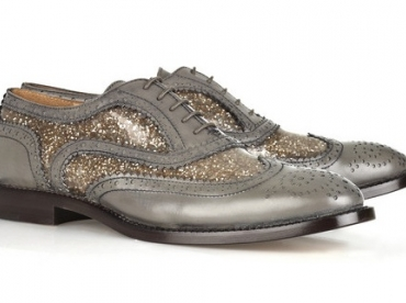 Brogues + paillettes = le bon mix ?