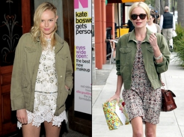 Les vestes army de Kate Bosworth